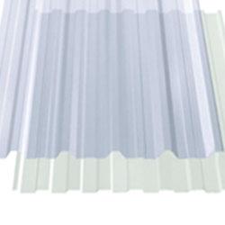 Telha transparente trapezoidal